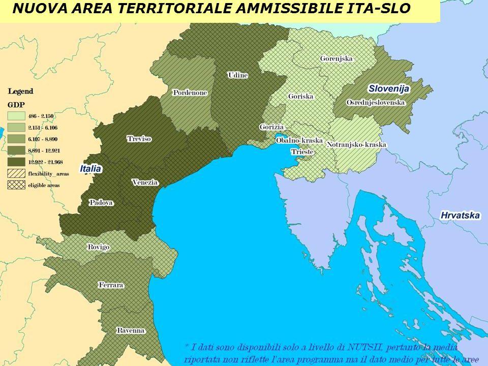 NUOVA AREA TERRITORIALE AMMISSIBILE ITA-SLO
