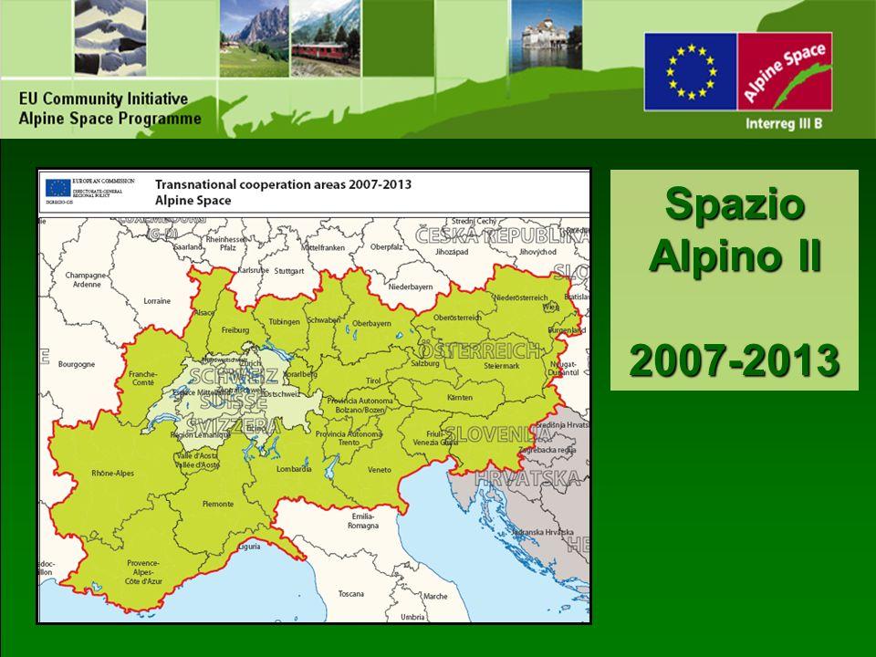Spazio Alpino II 2007-2013
