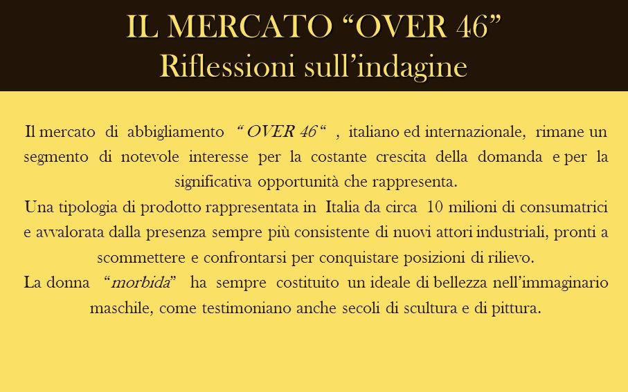 IL MERCATO OVER 46 Riflessioni sull'indagine