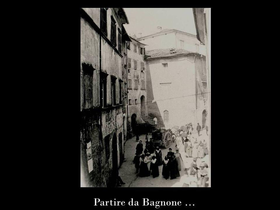 Partire da Bagnone …