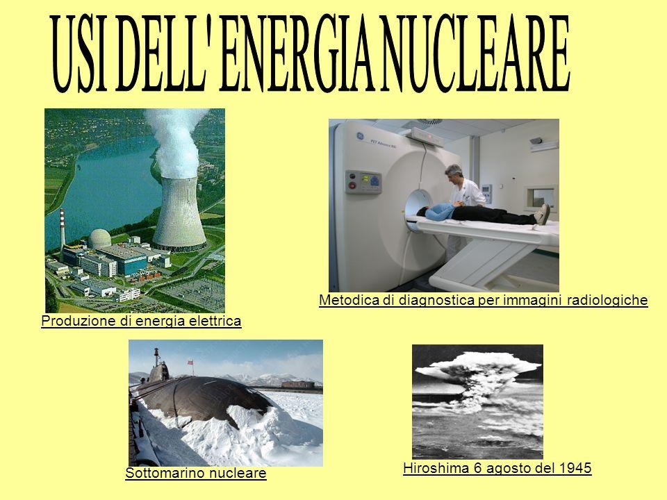 USI DELL ENERGIA NUCLEARE