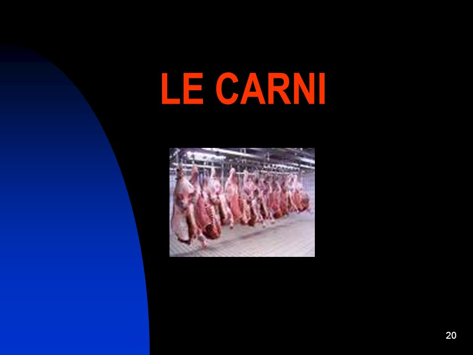 LE CARNI