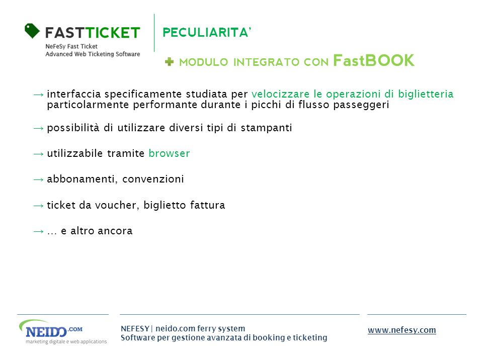 MODULO INTEGRATO CON FastBOOK