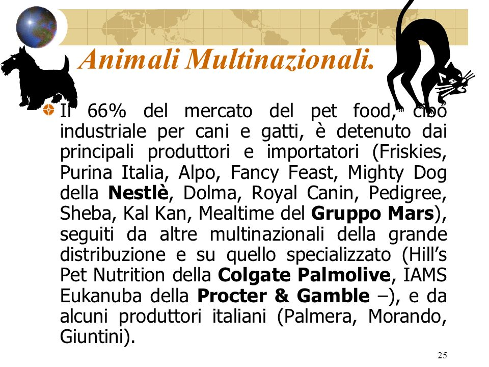 Animali Multinazionali.
