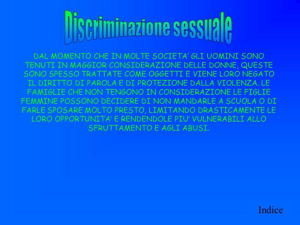 Discriminazione sessuale