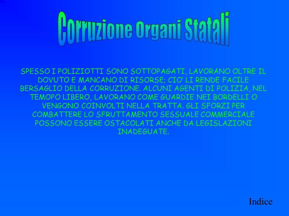 Corruzione Organi Statali