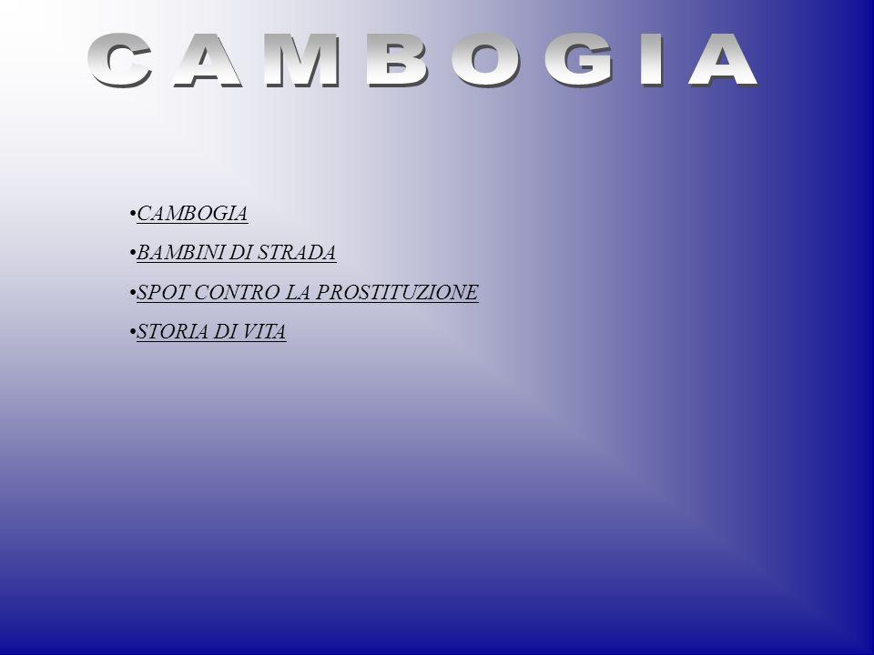 CAMBOGIA CAMBOGIA BAMBINI DI STRADA SPOT CONTRO LA PROSTITUZIONE