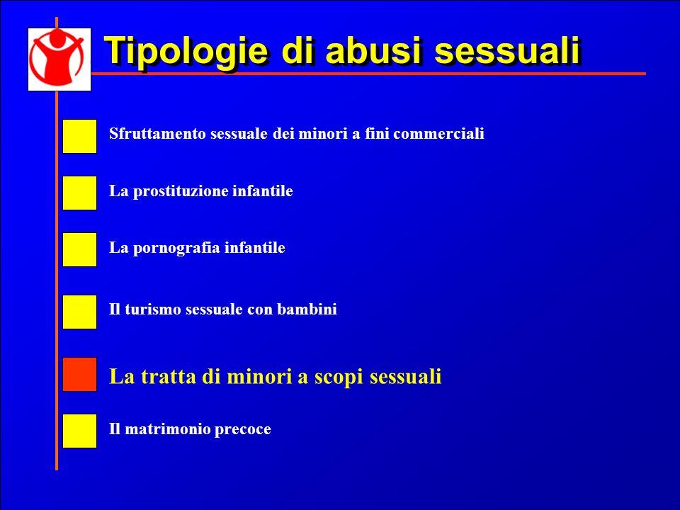 Tipologie di abusi sessuali