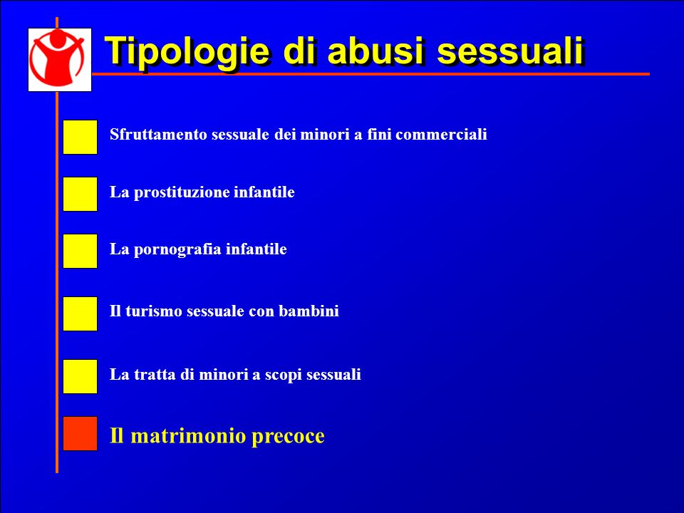 Tipologie di abusi sessuali