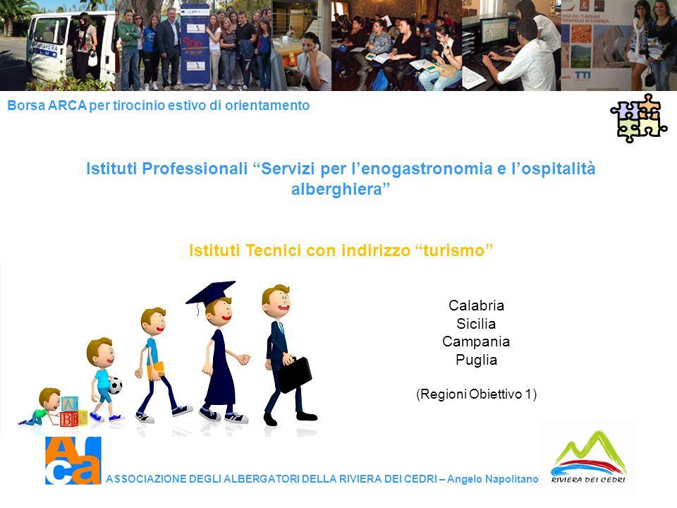 Istituti Tecnici con indirizzo turismo