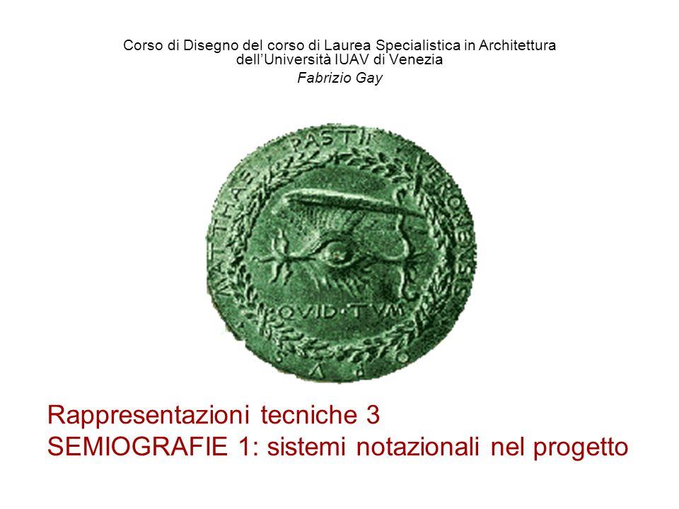 Corso di Disegno del corso di Laurea Specialistica in Architettura dell'Università IUAV di Venezia