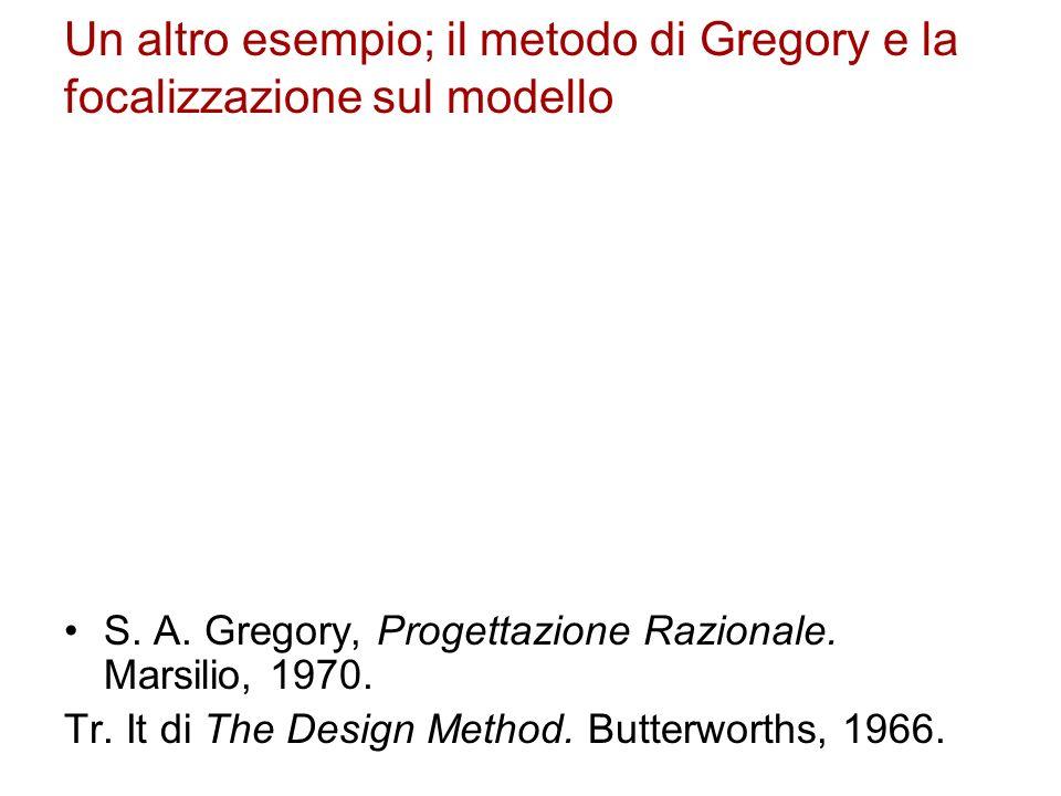Un altro esempio; il metodo di Gregory e la focalizzazione sul modello
