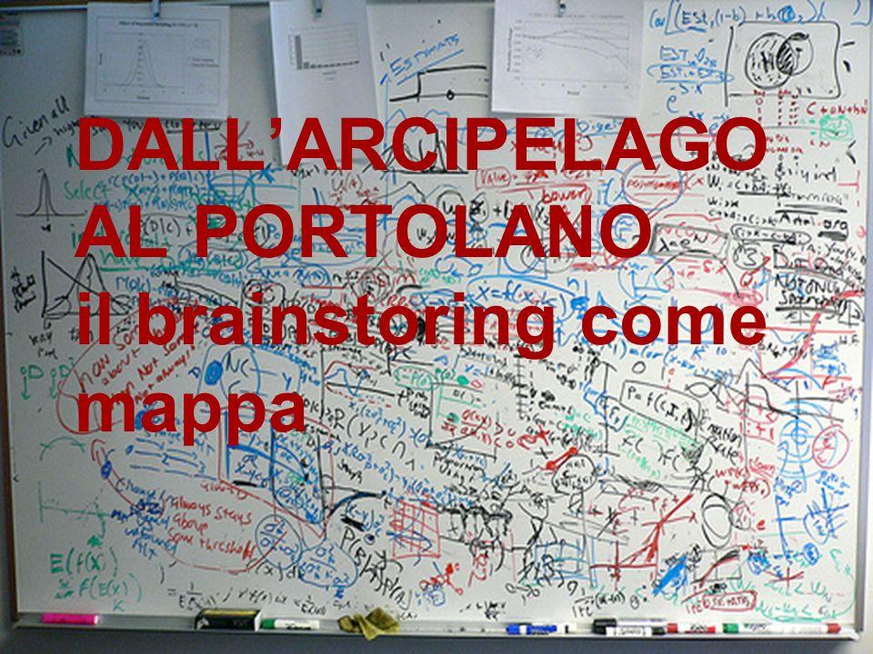 DALL'ARCIPELAGO AL PORTOLANO il brainstoring come mappa