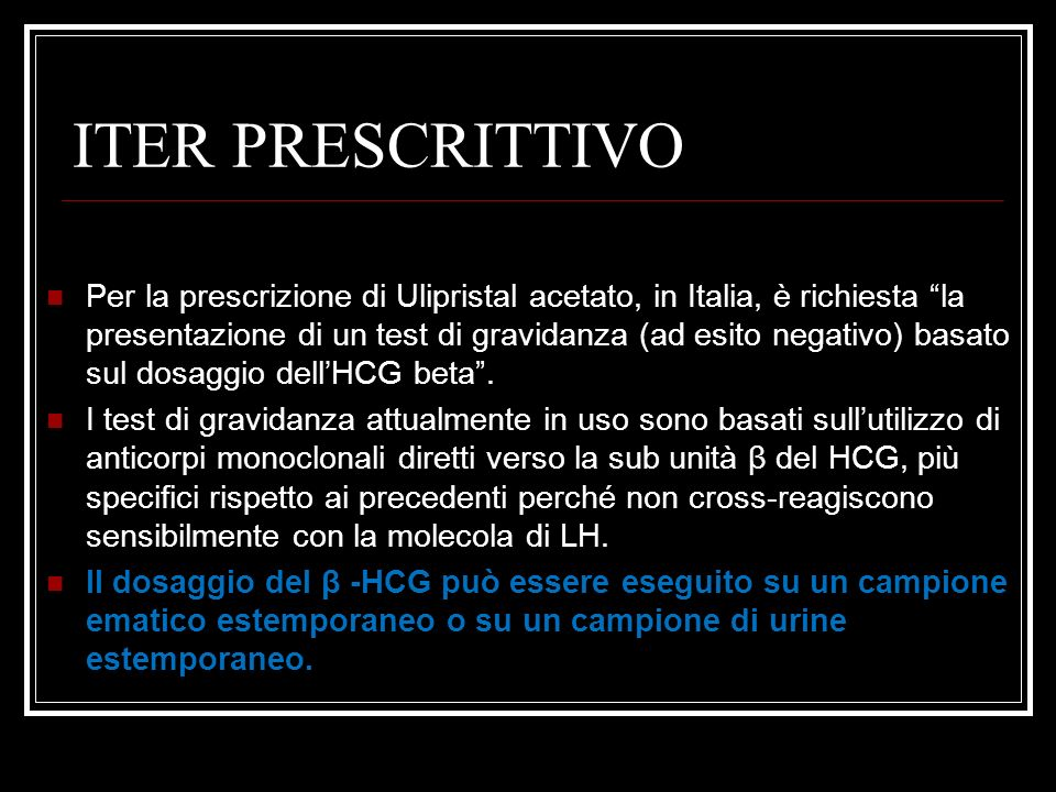 ITER PRESCRITTIVO