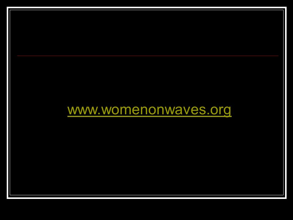 www.womenonwaves.org