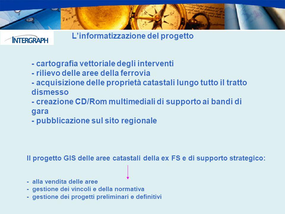 L'informatizzazione del progetto