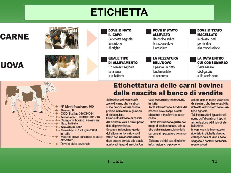 ETICHETTA F. Stuto