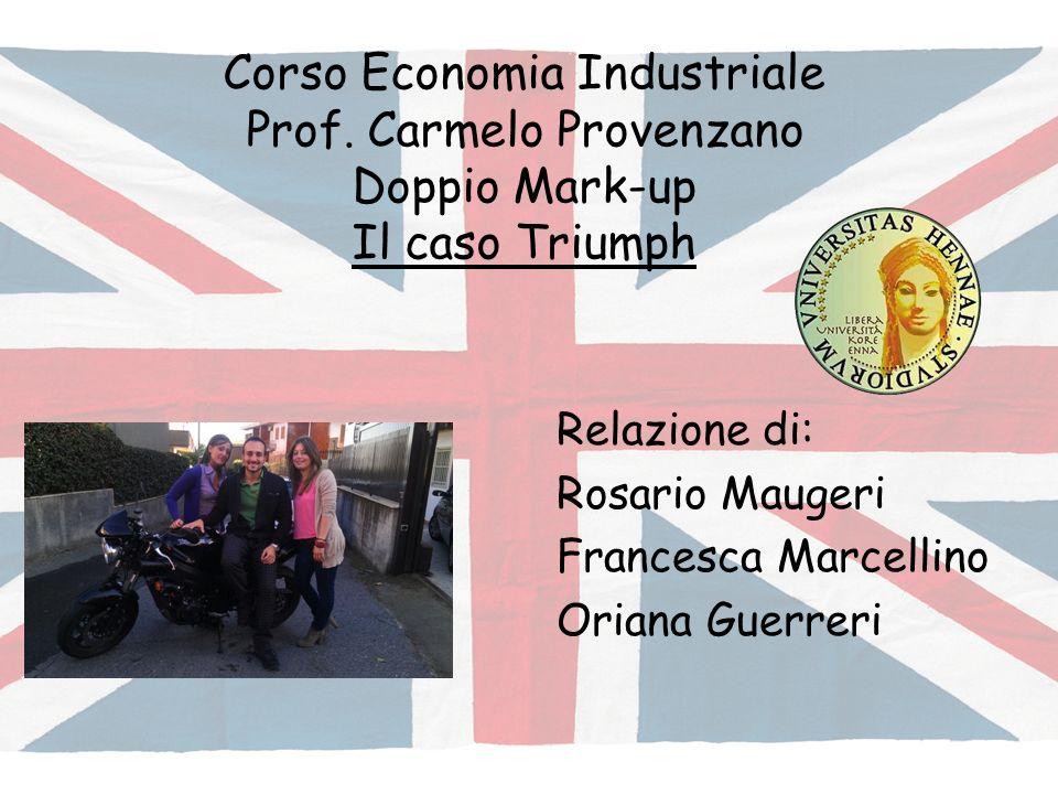 Relazione di: Rosario Maugeri Francesca Marcellino Oriana Guerreri