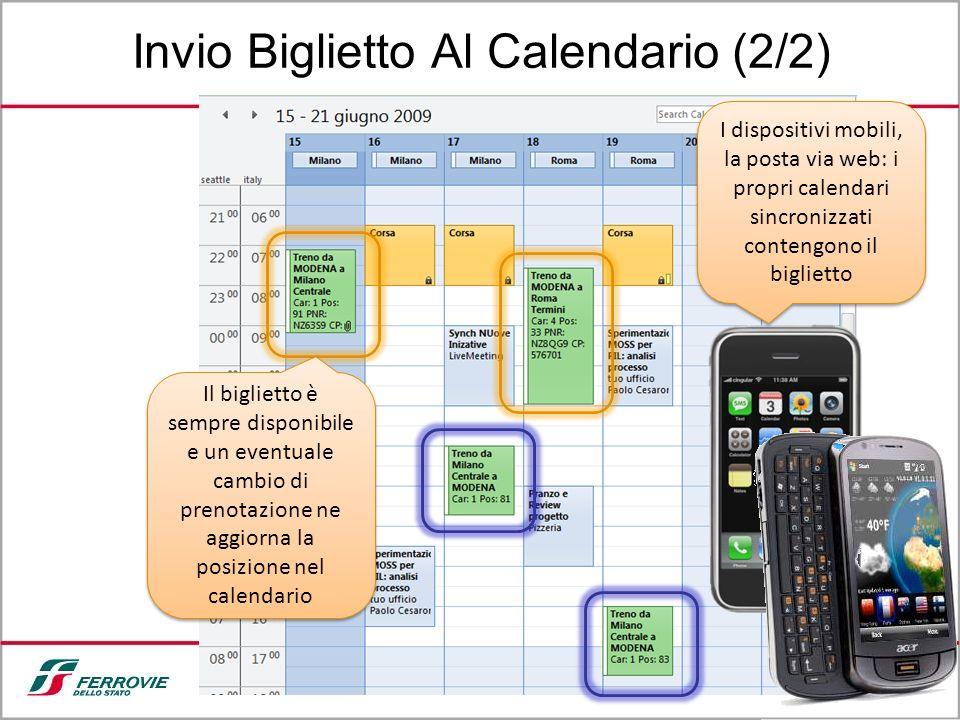 Invio Biglietto Al Calendario (2/2)