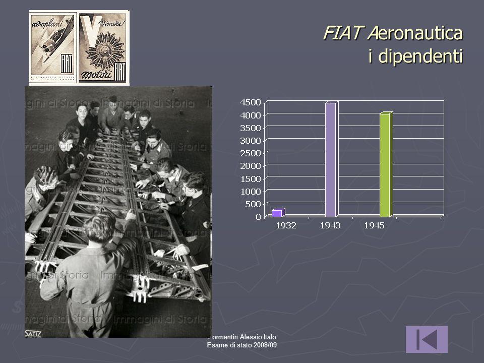 FIAT Aeronautica i dipendenti