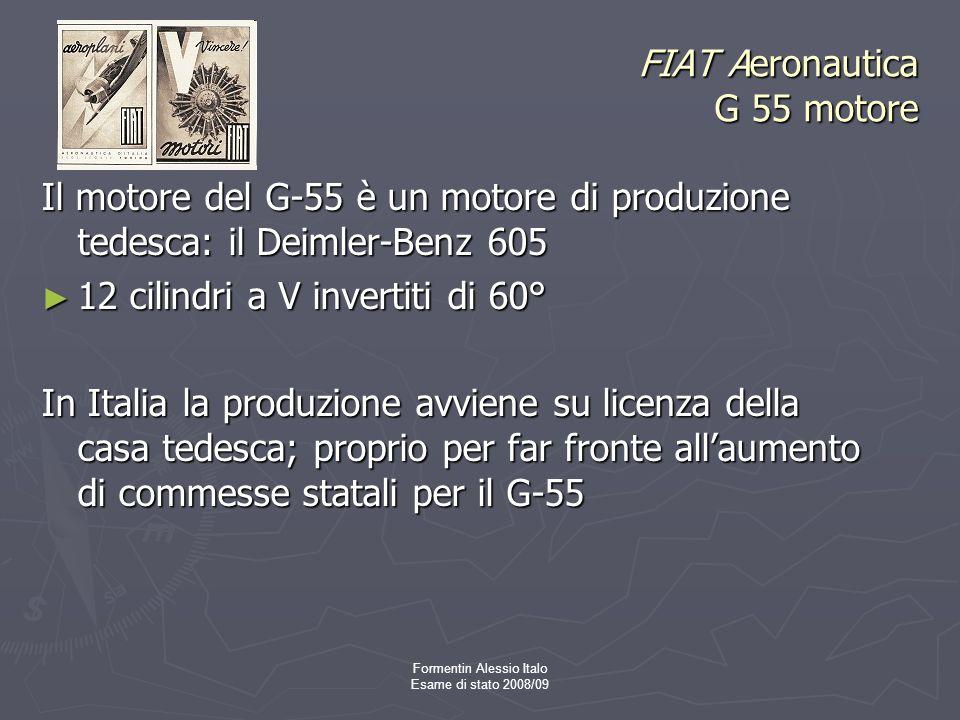 FIAT Aeronautica G 55 motore