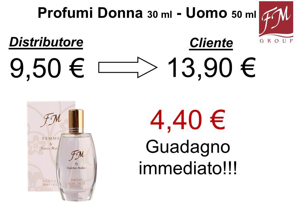 Profumi Donna 30 ml - Uomo 50 ml