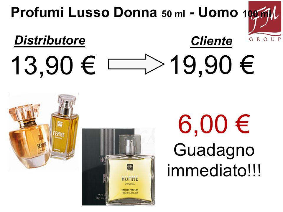 Profumi Lusso Donna 50 ml - Uomo 100 ml