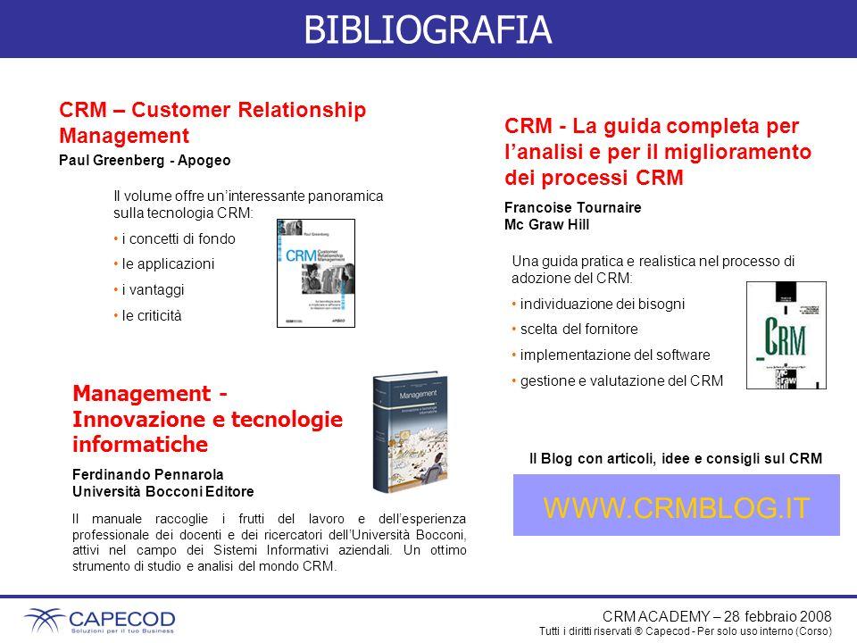 CRM – Customer Relationship Management Paul Greenberg - Apogeo