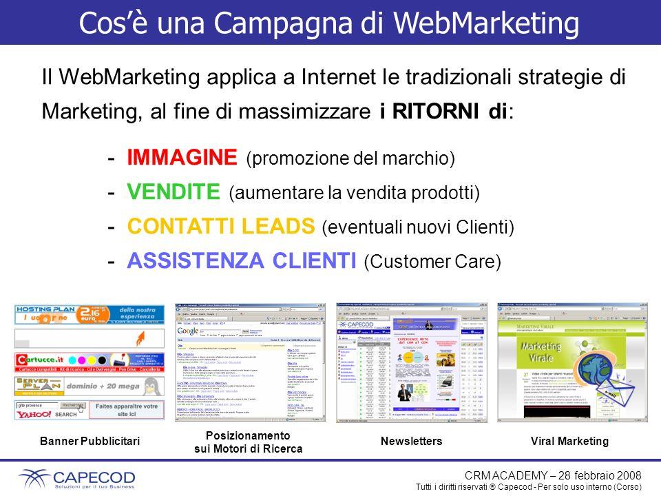 Cos'è una Campagna di WebMarketing