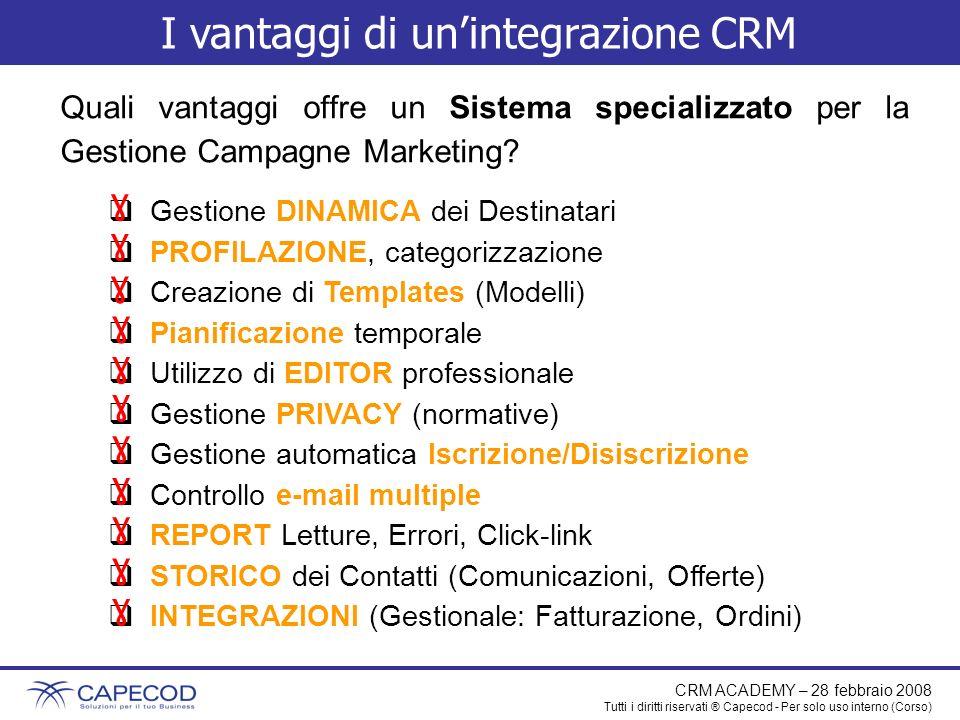 I vantaggi di un'integrazione CRM