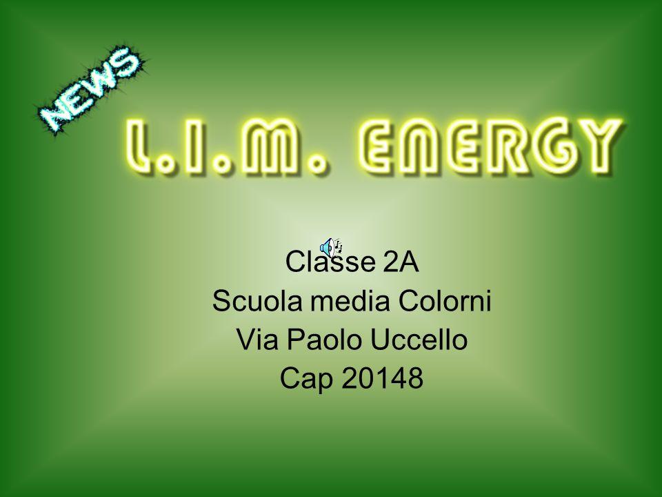Classe 2A Scuola media Colorni Via Paolo Uccello Cap 20148