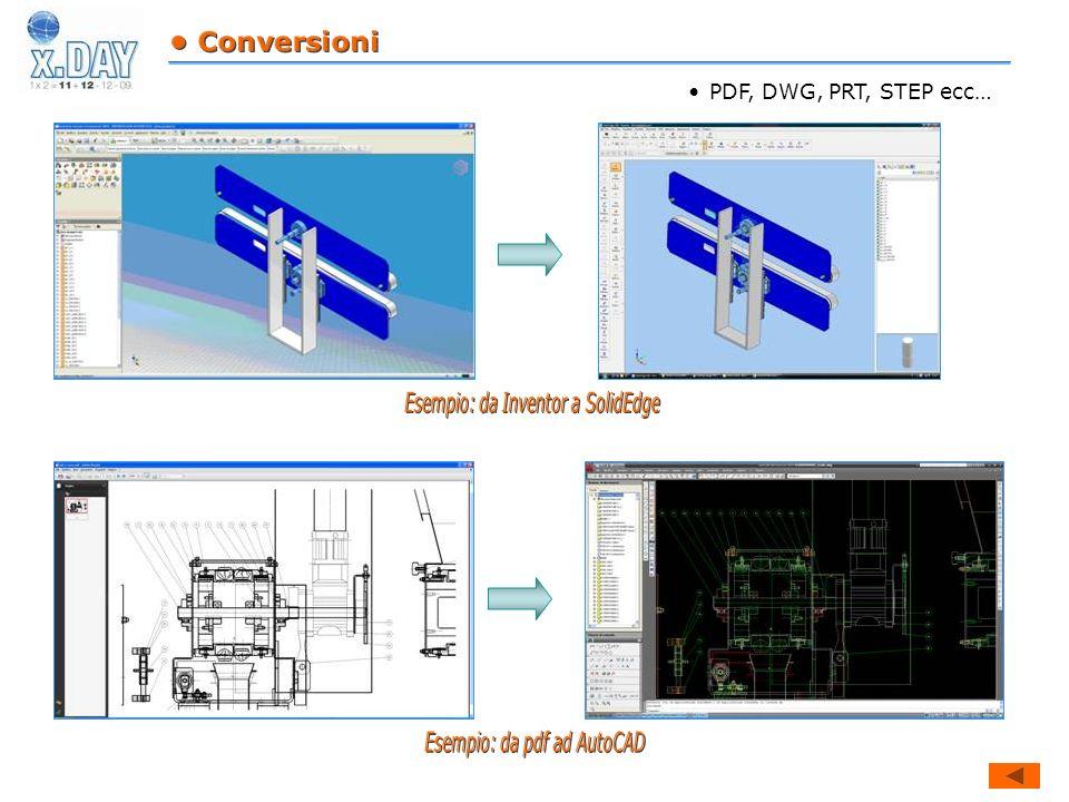 Esempio: da Inventor a SolidEdge