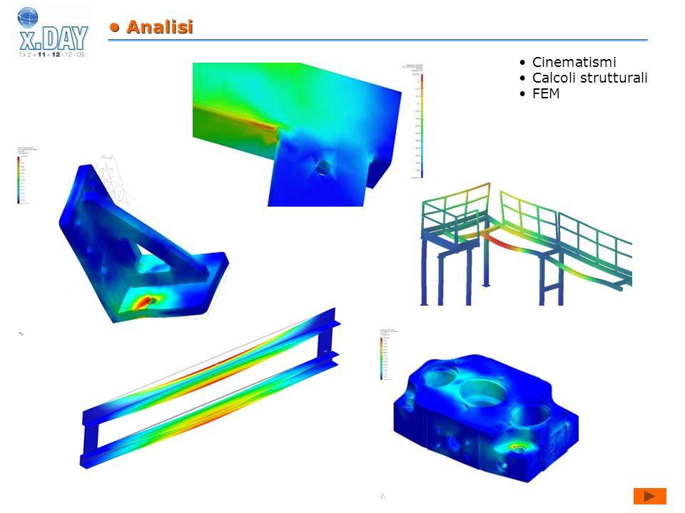 • Analisi Cinematismi Calcoli strutturali FEM