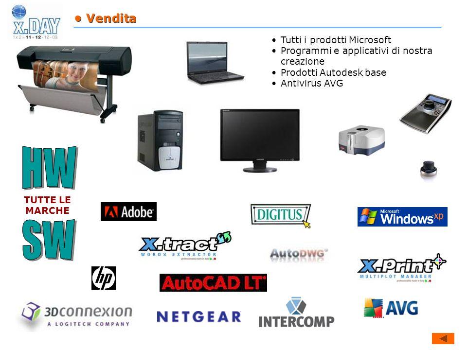 HW SW • Vendita Tutti i prodotti Microsoft