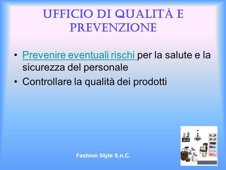 Ufficio di qualità e prevenzione