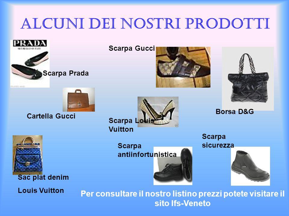 Alcuni dei nostri prodotti