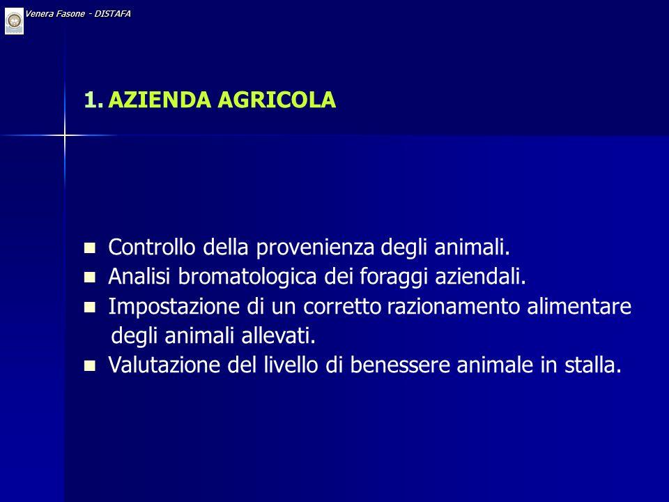 Controllo della provenienza degli animali.
