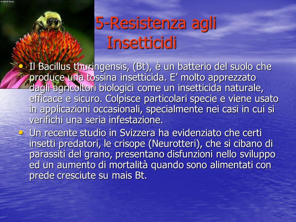 5-Resistenza agli Insetticidi