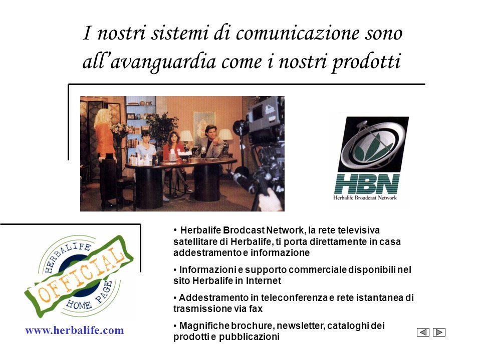 I nostri sistemi di comunicazione sono all'avanguardia come i nostri prodotti
