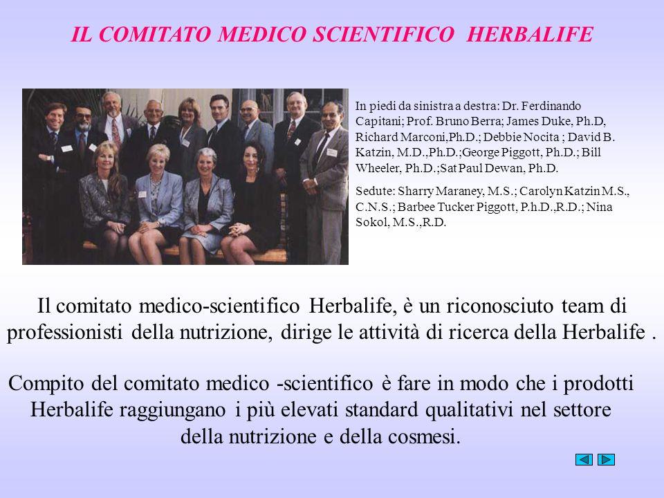 IL COMITATO MEDICO SCIENTIFICO HERBALIFE