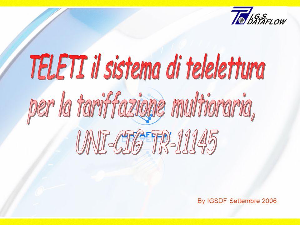 TELETI il sistema di telelettura per la tariffazione multioraria,
