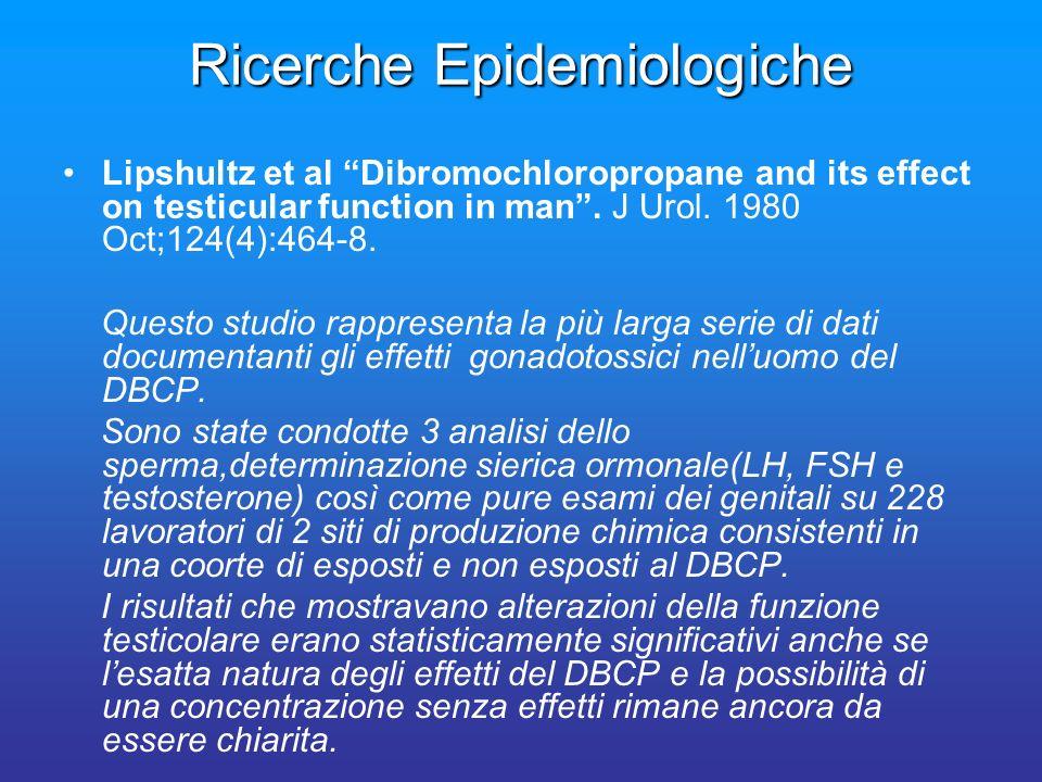 Ricerche Epidemiologiche
