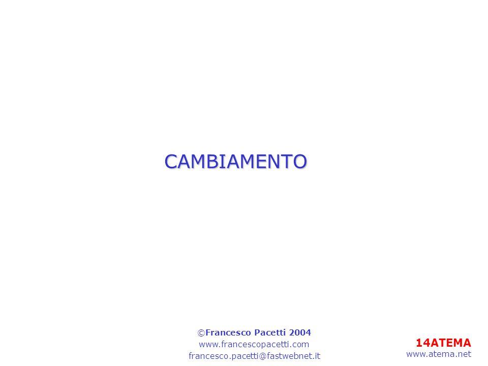 CAMBIAMENTO ©Francesco Pacetti 2004 www.francescopacetti.com