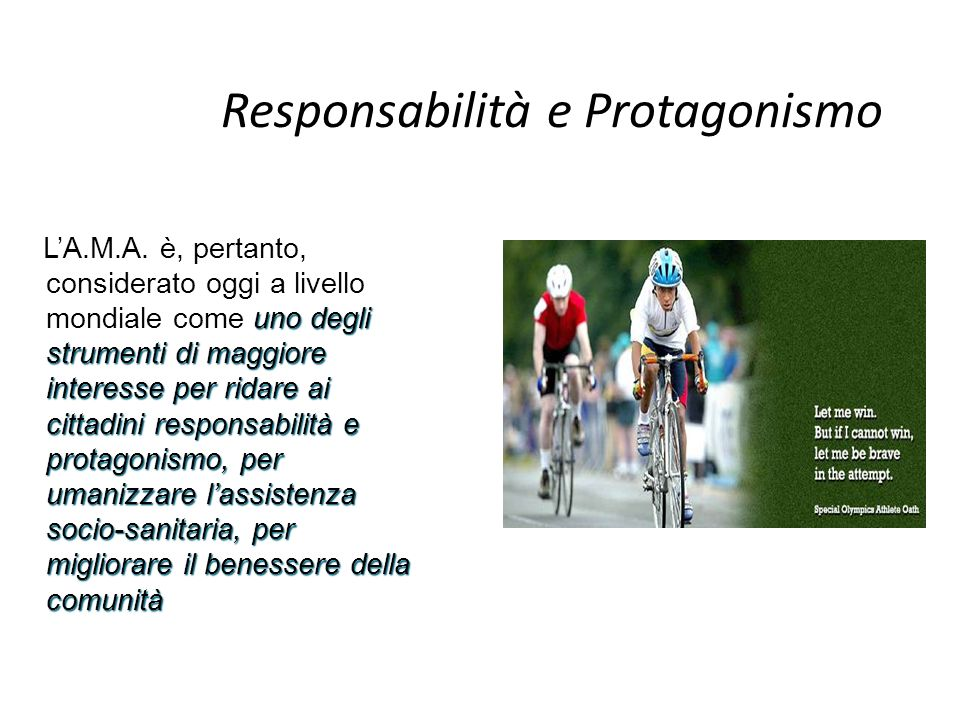 Responsabilità e Protagonismo