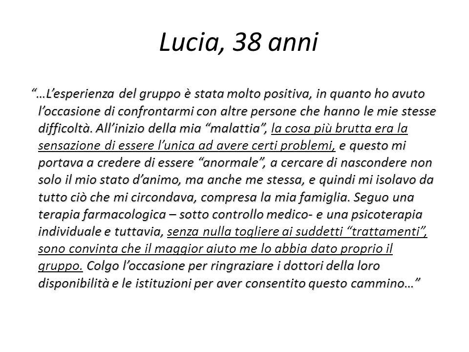 Lucia, 38 anni