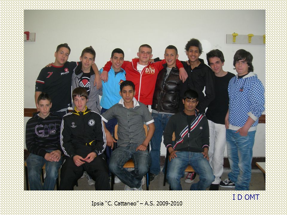 I D OMT Ipsia C. Cattaneo – A.S. 2009-2010