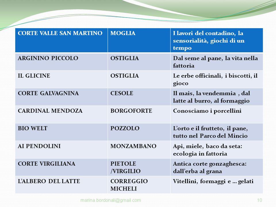 CORTE VALLE SAN MARTINO MOGLIA