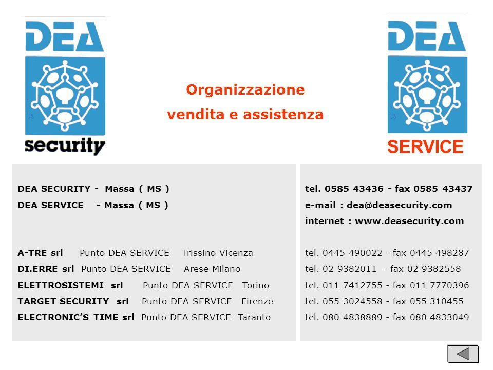 SERVICE Organizzazione vendita e assistenza