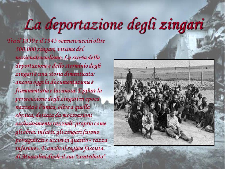 La deportazione degli zingari