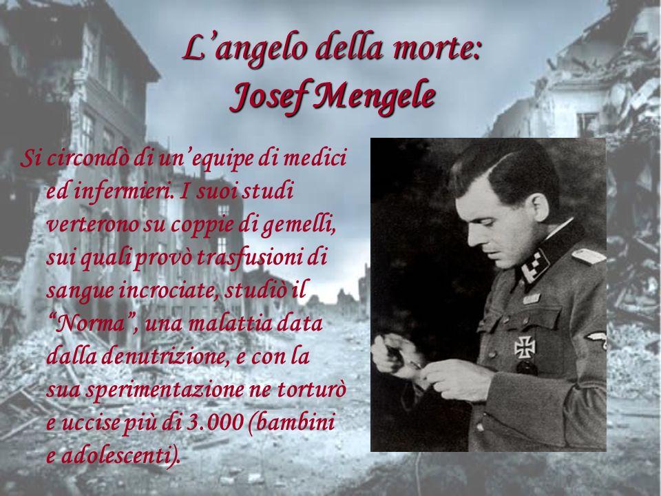 L'angelo della morte: Josef Mengele